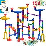 JOYIN 150 Pcs Marble Run Premium Set, Construction Building Blocks Toys, STEM Learning Toy, Educational Building Block…