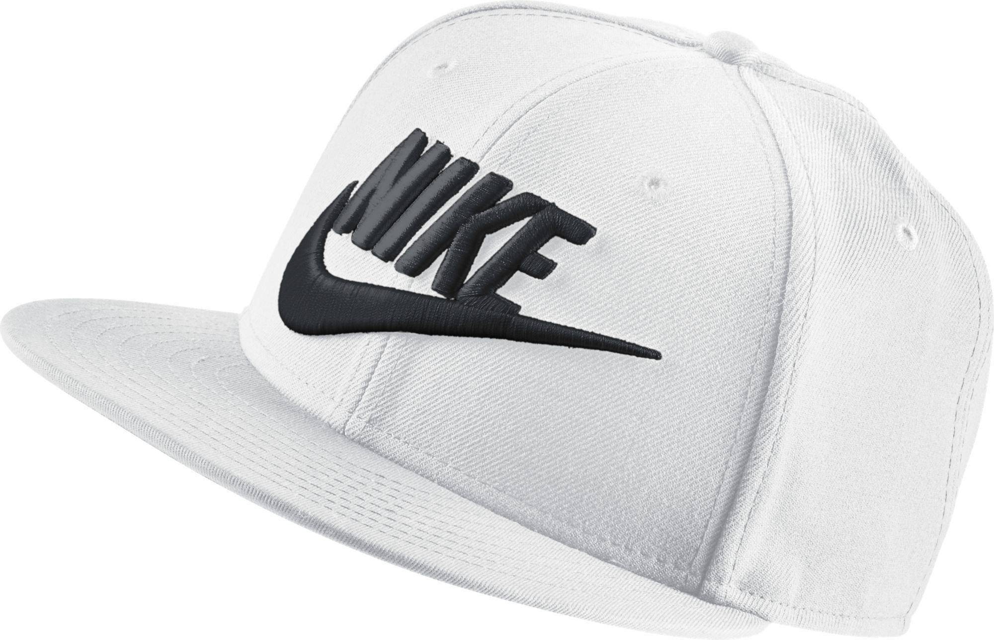 Galleon - NIKE Mens Futura True 2 Adjustable Snapback Hat White Black  584169-436 2348dc93e36