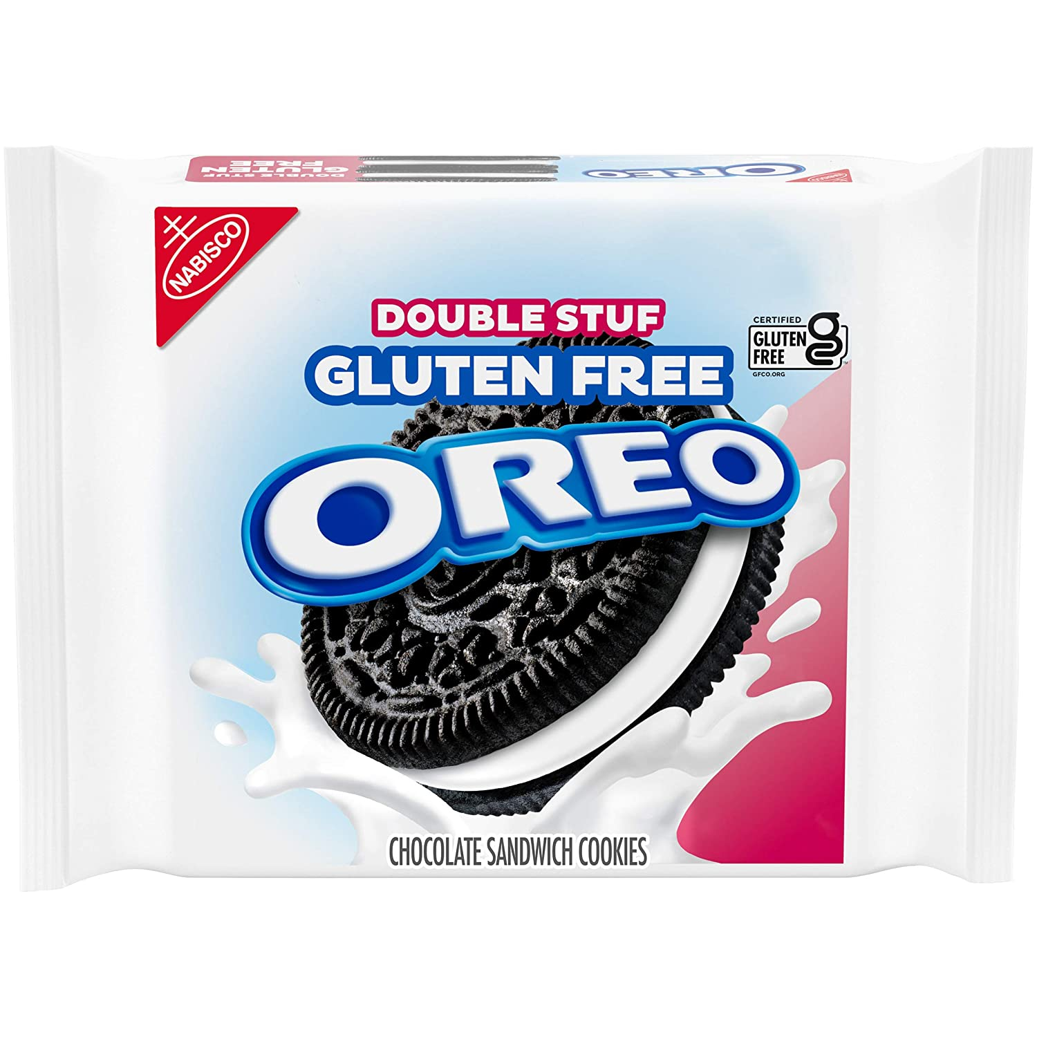 Oreo Double Stuf Gluten Free Sandwich Cookies 14.03 oz, Chocolate, 1 Count