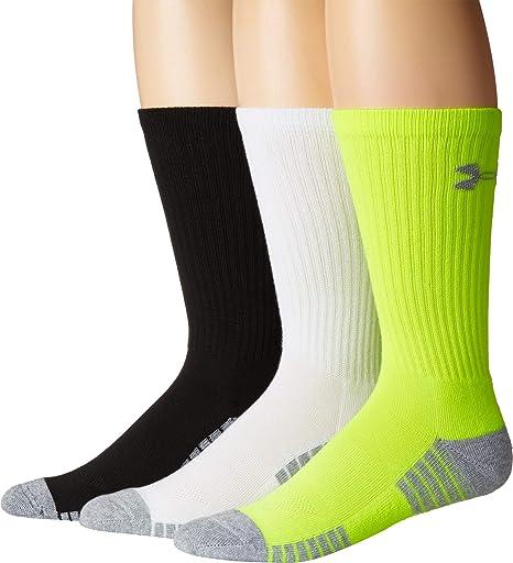 a064fa51efae Under Armour Men's Heatgear Tech Crew Socks: Amazon.ca: Clothing ...