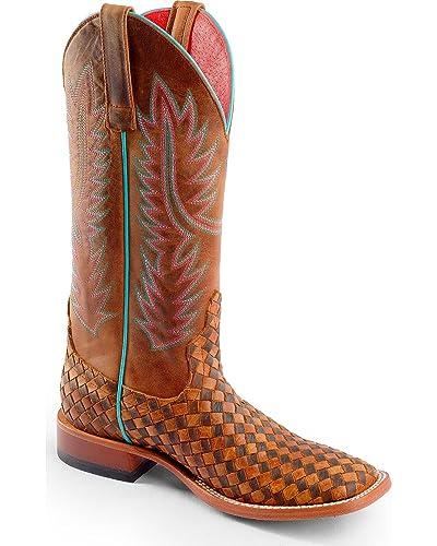 cfc6d3c032f Amazon.com   Macie Bean Women's Unbeweavable Cowgirl Boot Square Toe ...