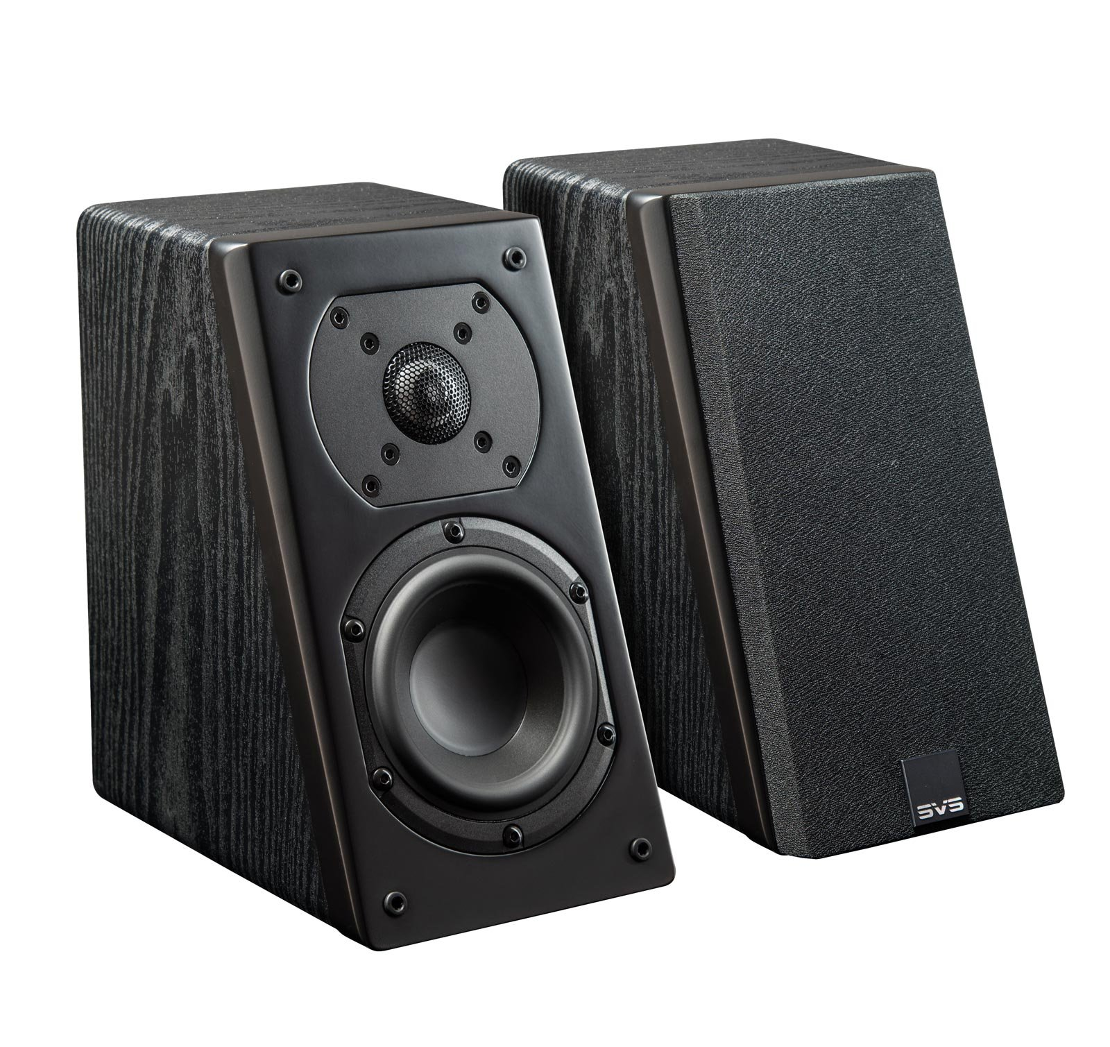 SVS Prime Elevation Speaker (Pair) - Premium Black Ash by SVS