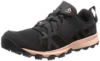 save off d9614 ae522 adidas Damen Kanadia 8 TR W Laufschuhe, Schwarz (Utility BlackCore Black