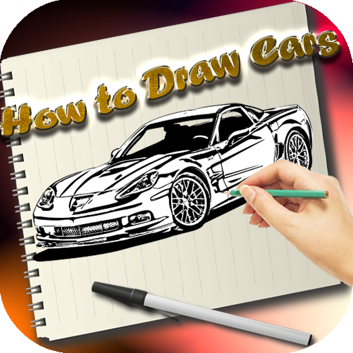 Learn How To Draw Cars (Coupe Charger)