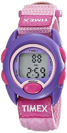 bfd6db253f5 Amazon.com  Timex Kids  TW7B997009J Digital Watch with Elastic Nylon ...