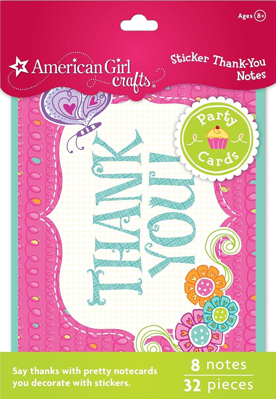 American Girl Crafts Thank-You Notes EKSuccessBrands 30-629400