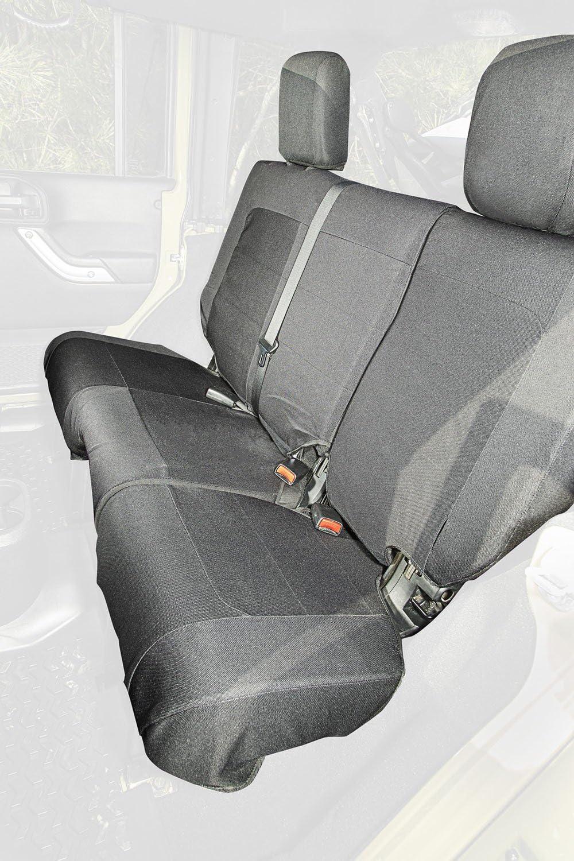 Rugged Ridge 13266.04 E-Ballistic Seat Cover Rear Black 11-16 JK 4Dr