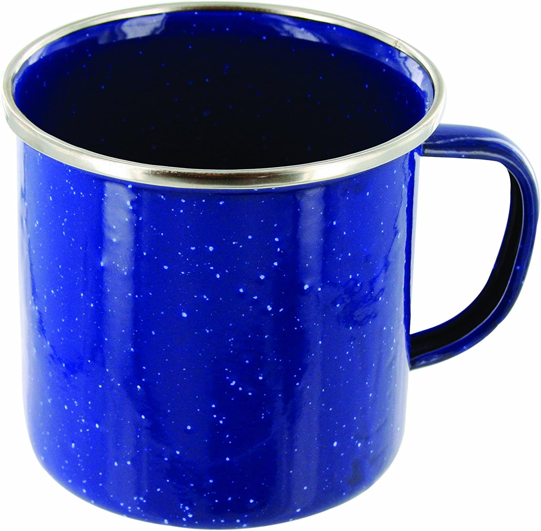 BOWLS /& MUGS BLACK BLUE HIGHLANDER DELUXE ENAMEL PLATES GREEN