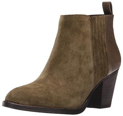 Nine West Women s Fiffi Ankle Bootie Dark Green 6 ... 5f57f523bc