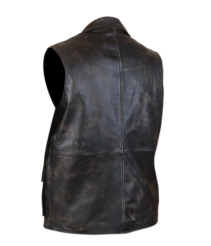 Flesh /& Hide F/&H Mens League of Extraordinary Gentlemen Allan Quatermain Genuine Leather Vest