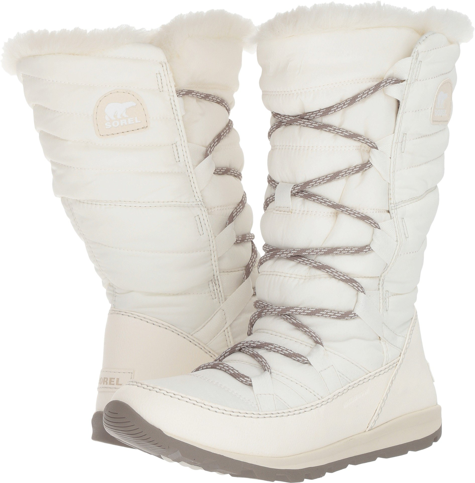 Sorel Women's Whitney Lace Waterproof Winter Boot Sea Salt 8 M US by SOREL