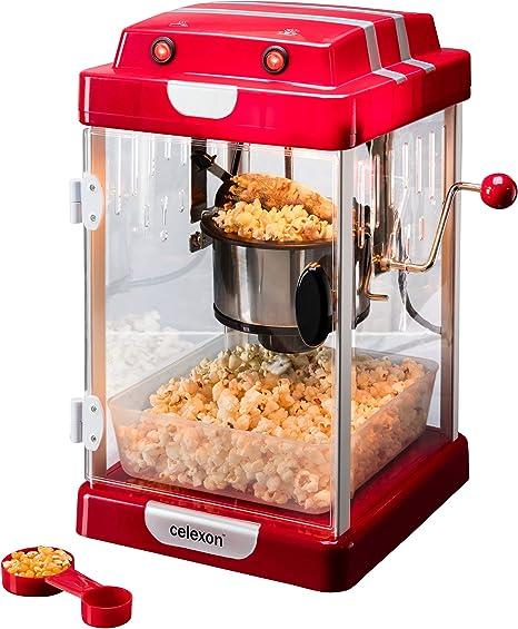 celexon máquina de palomitas de maíz con caldera de acero ...