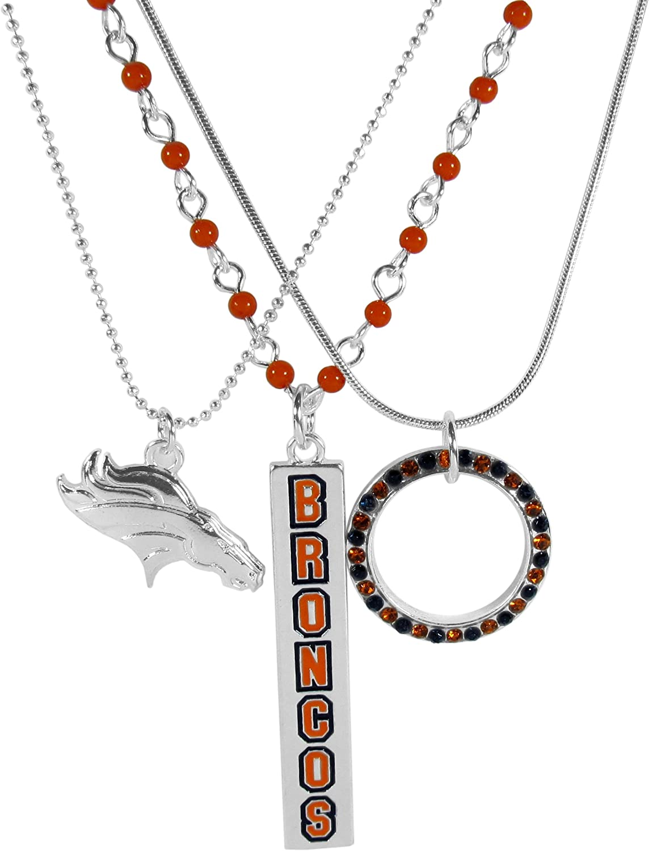 Siskiyou NCAA Womens Bar Necklace