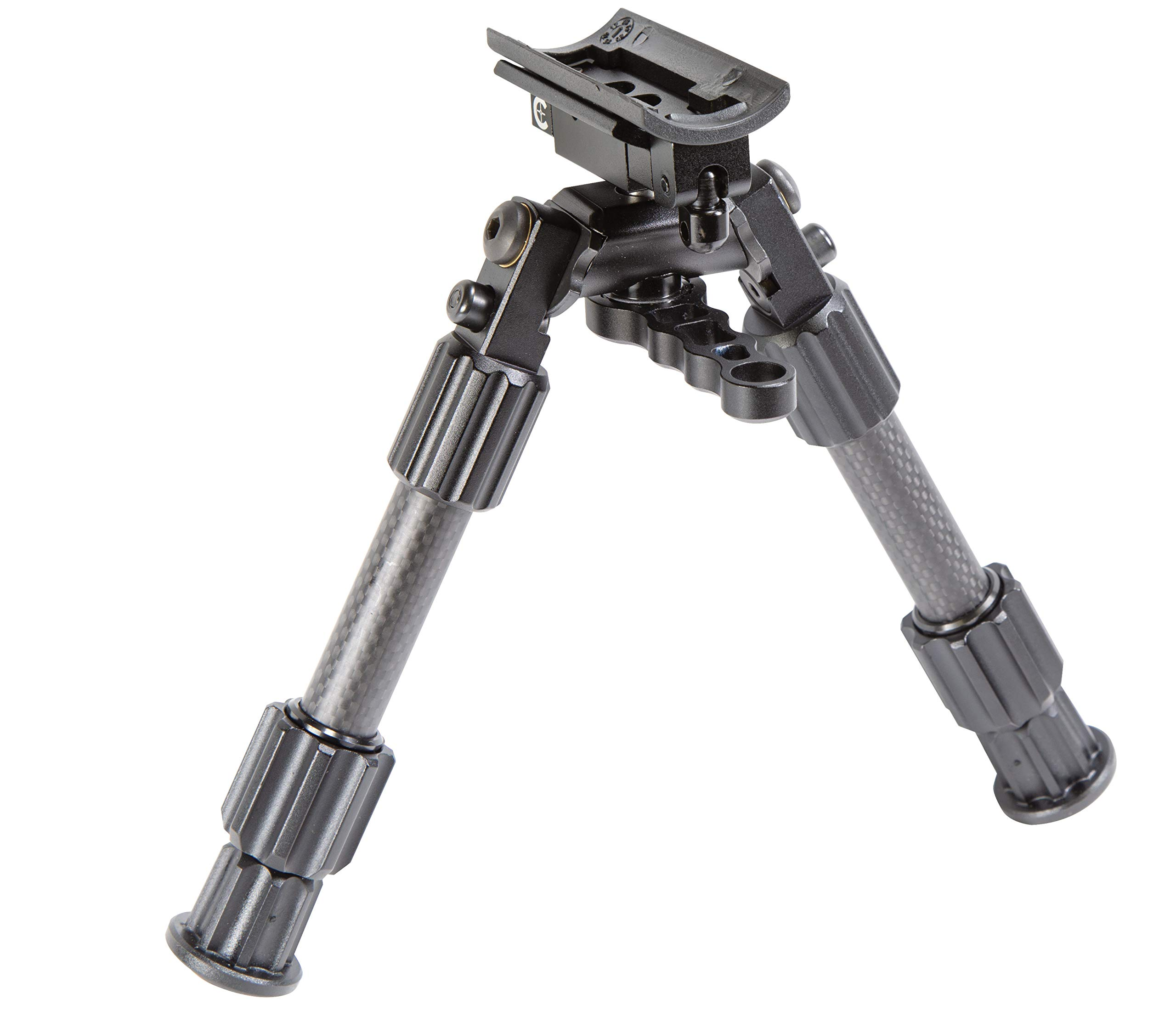 Caldwell Accumax Premium Carbon Fiber Sling Swivel Stud Bipod with Twist Lock Quick-Deployment Legs for Long Gun Rifle for Tactical Shooting Range and Sport, 9''-13'' by Caldwell