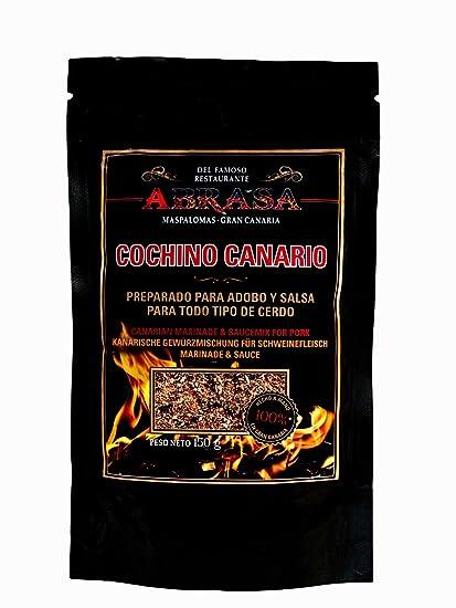 """COCHINO CANARIO """"RUB"""" Adobo para todo tipo de carne de cerdo"""