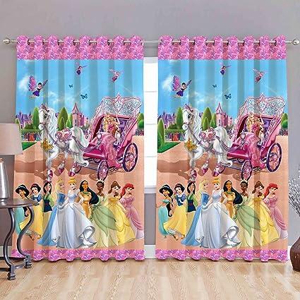 Buy Homecrust 3d Curtain Elegant Curtain Barbie World 2 Pcs Online