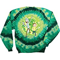 Ripple Junction Rick and Morty Large Portal Adult Unisex Crew Sweatshirt