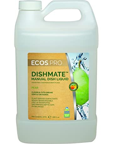 Earth Friendly Products Proline PL9720/04 Dishmate Pear Ultra-Concentrated Liquid Dishwashing Cleaner,