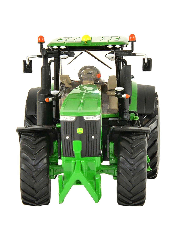 John Deere - Tractor 6215R con pala (Bizak 30692821): Amazon.es: Juguetes y juegos
