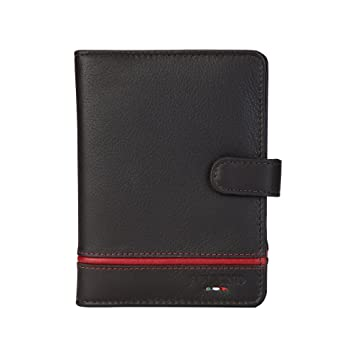 437b7c0b6f9d Image Unavailable. Image not available for. Colour: FOLIGNO Siena Genuine Leather  Travel Wallet Passport Holder RFID Blocking Credit Card Holder for Men &