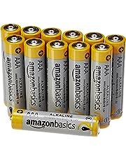 AmazonBasics - Pile Mini Stilo Alcaline AAA Performance, confezione da 12