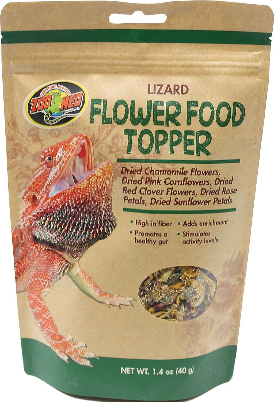Zoo Med Lizard Flower Food Topper