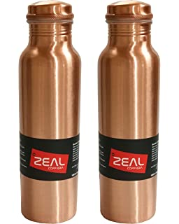 Healthfit Pure Copper Bottle Handmade With Ayurvedic Health