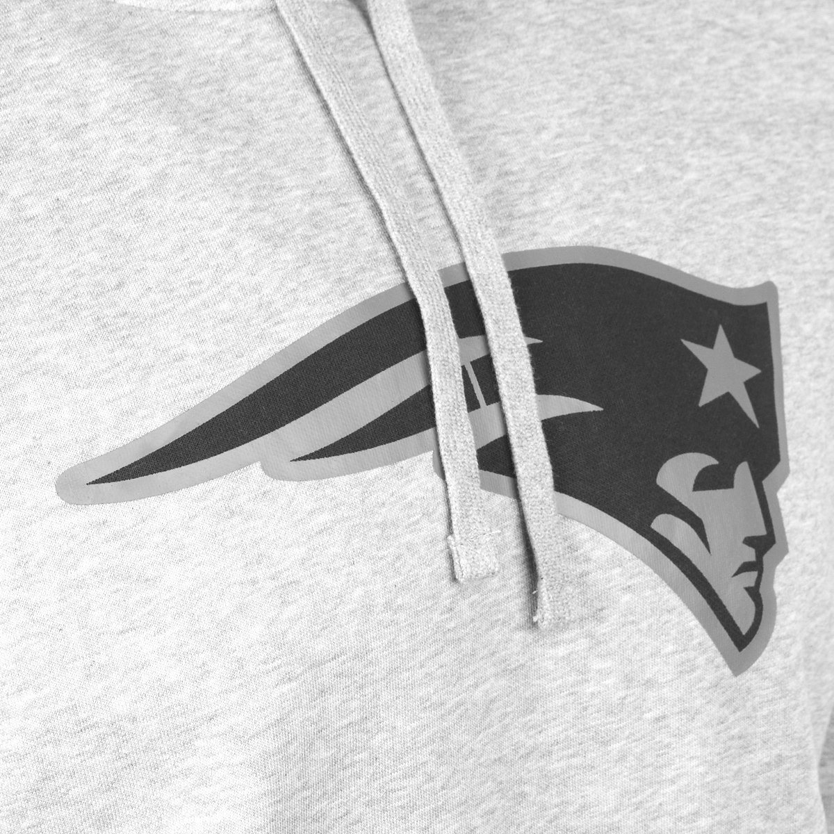 New Era Fleece Hoody NFL New England Patriots grau