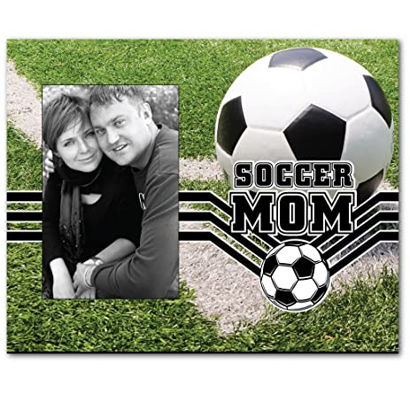 soccer mom picture frame holds 4x6 photo - Mom Picture Frames