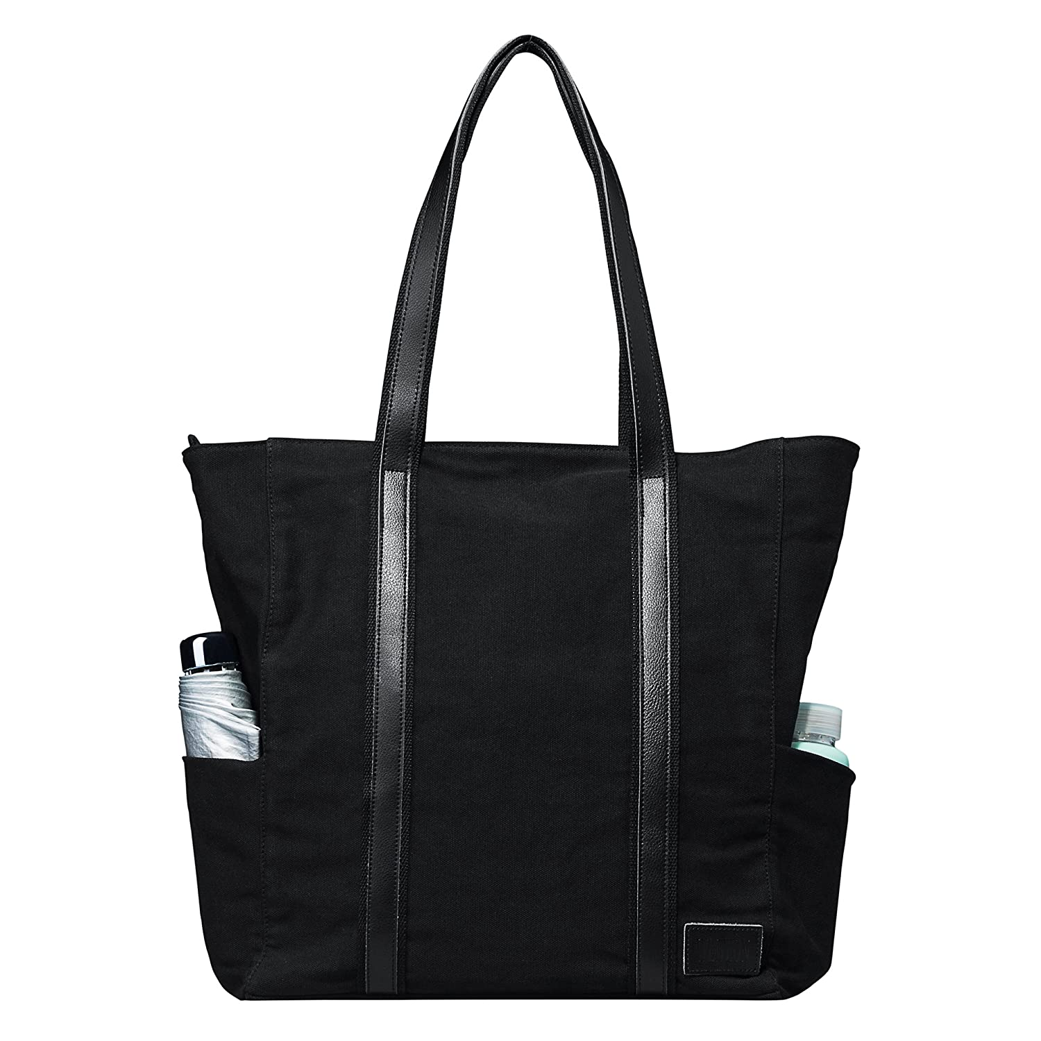 056f99bf8de1 Amazon.com  WEWEON Top Laptop Tote Computer Work Office Bag Best for Women  Large Canvas  Computers   Accessories