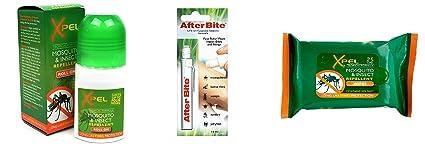 Mosquito XPEL/repelente de insectos y morder/alivio de la picadura equipo: Mosquito