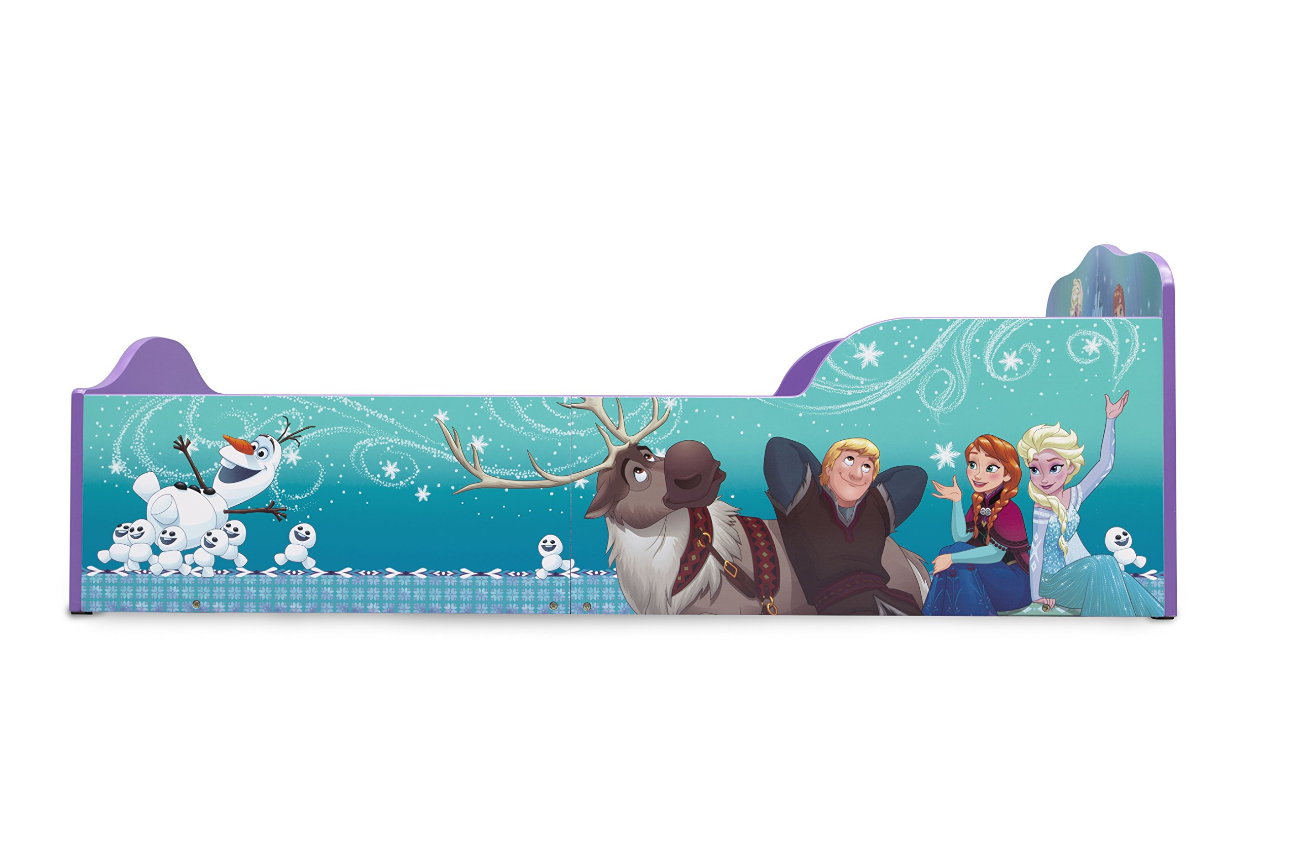 Delta Children Wood Toddler Bed, Disney Frozen by Delta Children (Image #6)