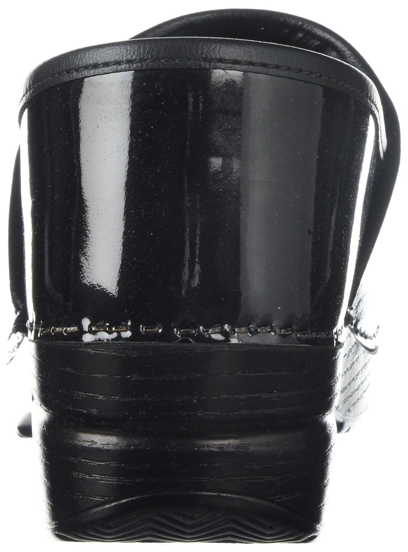 Dansko stripe Women's Professional Clog 37 M EU (6.5-7 US)|faded stripe Dansko patent B072W8Y13P 02f50b