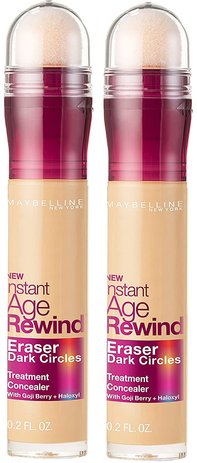 Maybelline New York Instant Age Rewind Eraser Dark Circles Treatment Concealer Makeup, Caramel, 0.2 fl. oz. L' Oreal - Cosmetics 041554546811