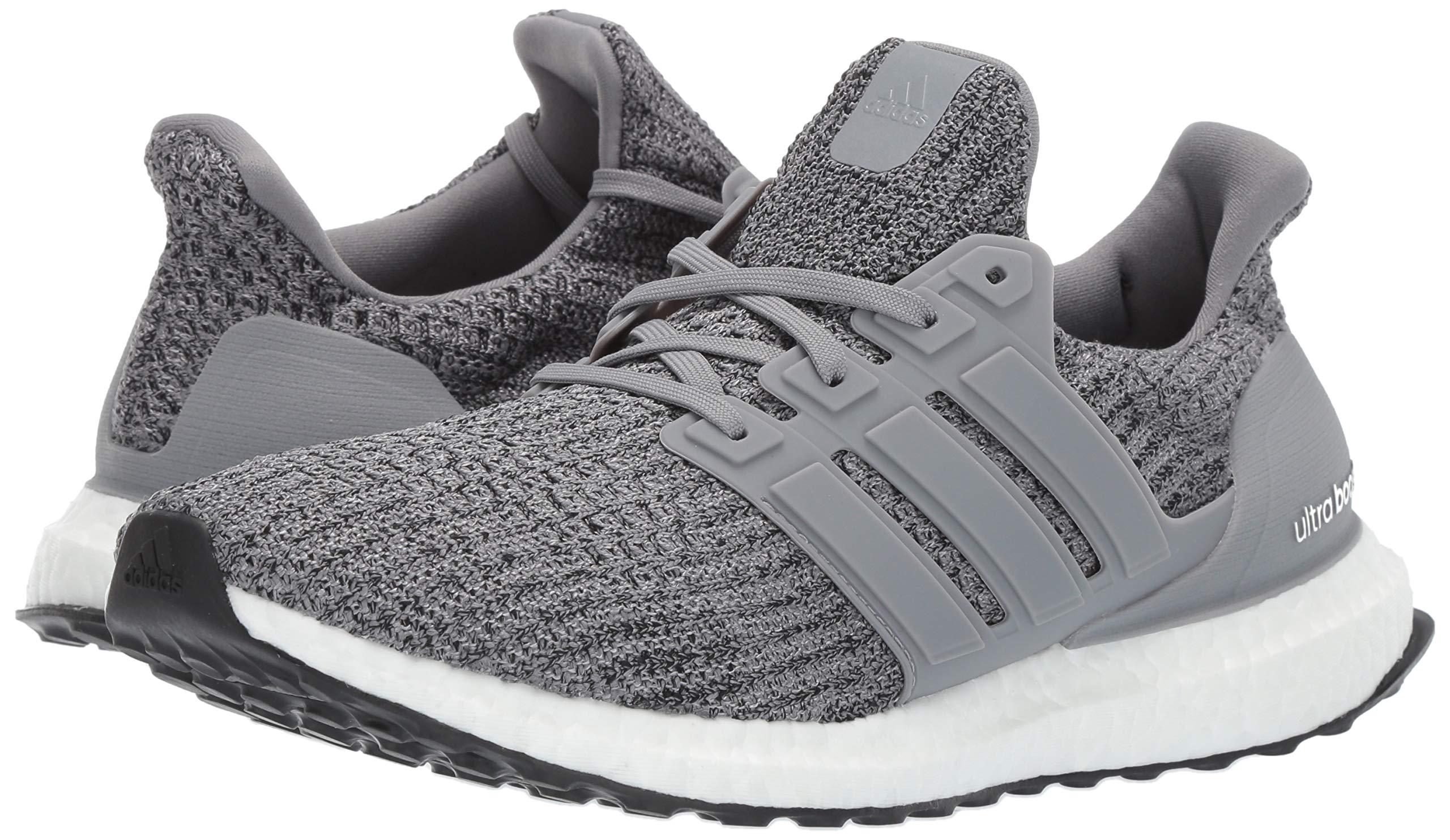 adidas Men's Ultraboost, Grey/Black, 4 M US by adidas (Image #6)