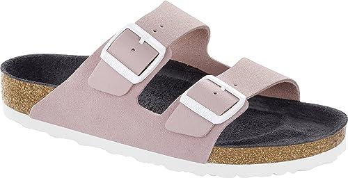 8b21da2765b4b0 Birkenstock Women s Arizona Asphalt Fashion Sandals  Amazon.co.uk ...