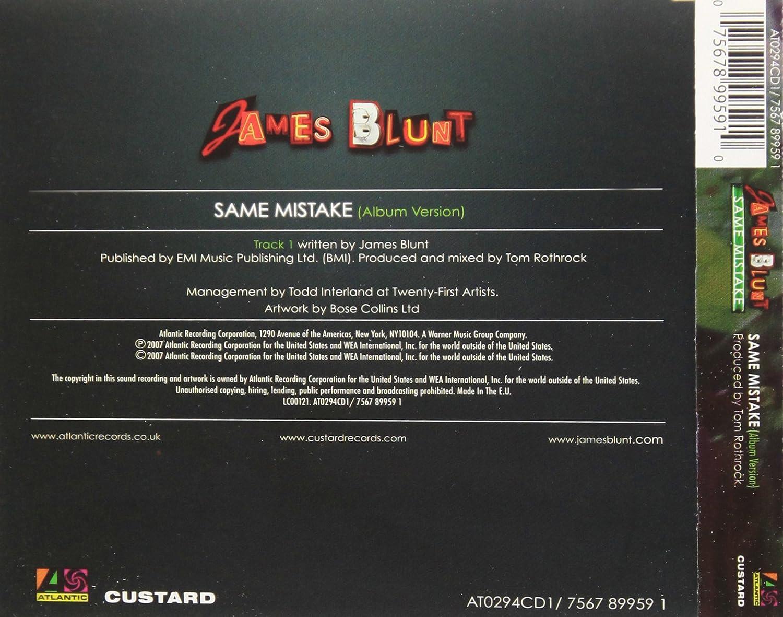 BLUNT JAMES MISTAKE MUSICA BAIXAR SAME