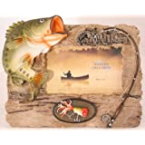 Bass Picture Frame by Wildlife Creations