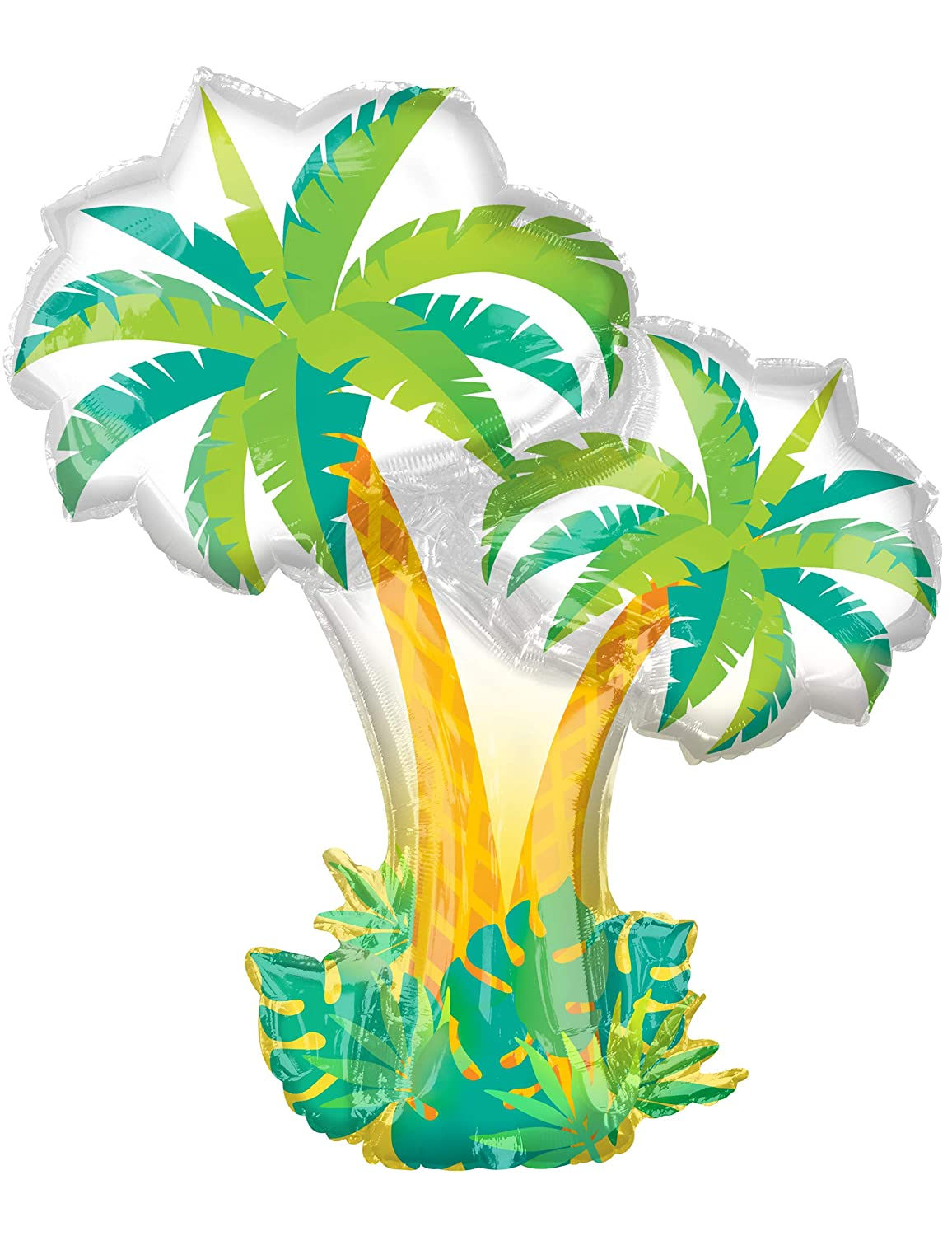 Tropical Palm Trees Super Shape Mylar Balloon   B078RV7DKV