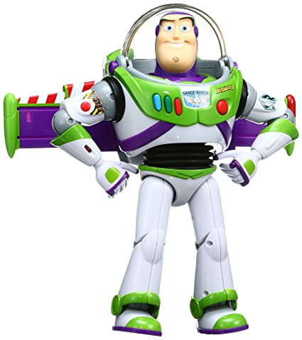 amazon com disney toy story real size interactive talking figure