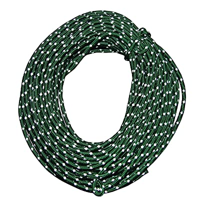 RT 2 Pack of Reflective 50' Safety Hiking Rope Cord: Garden & Outdoor