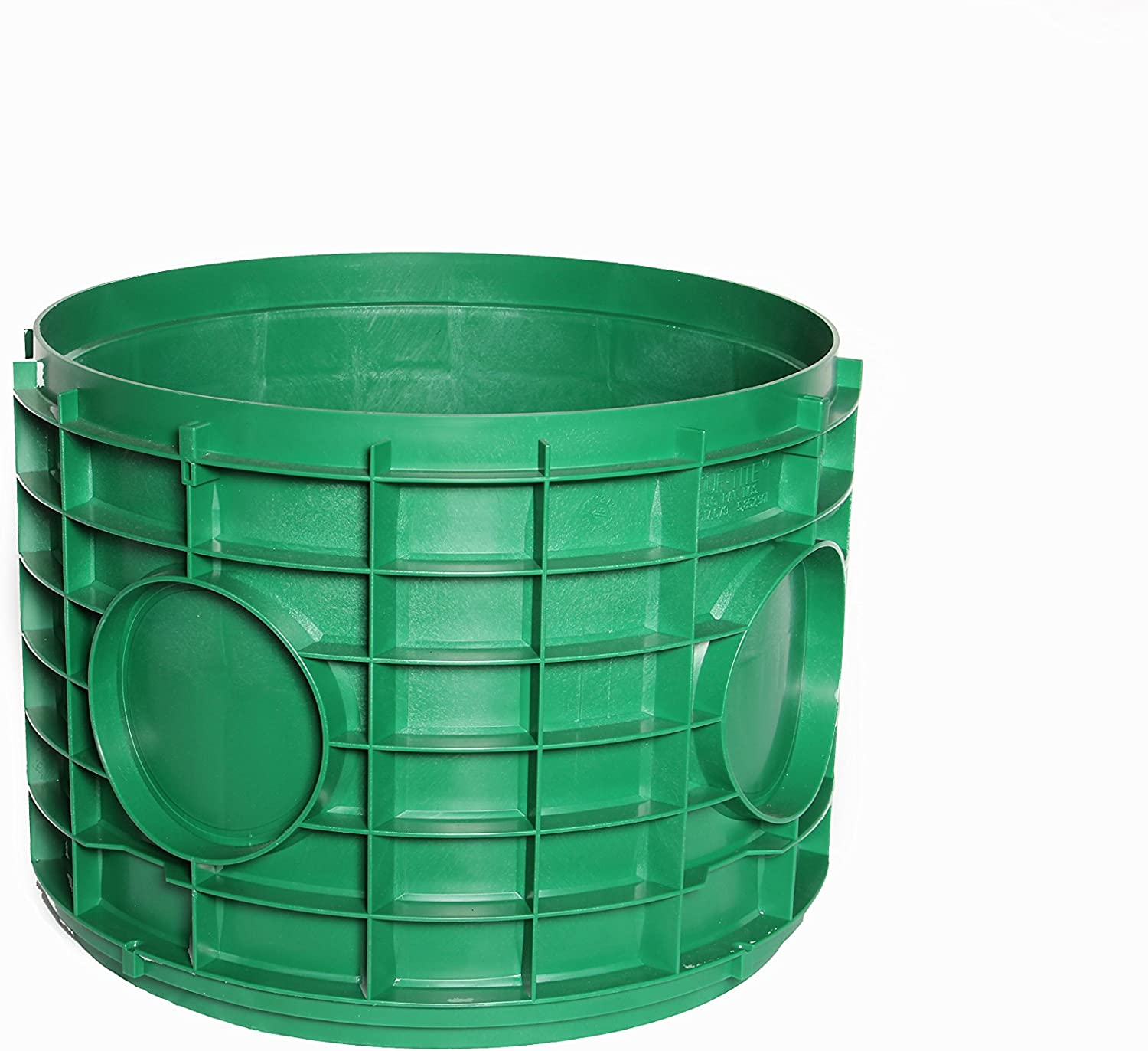 Green Riser Tight Seal Plumbing Fixture Pump Parts Septic Tank Cover 18 in