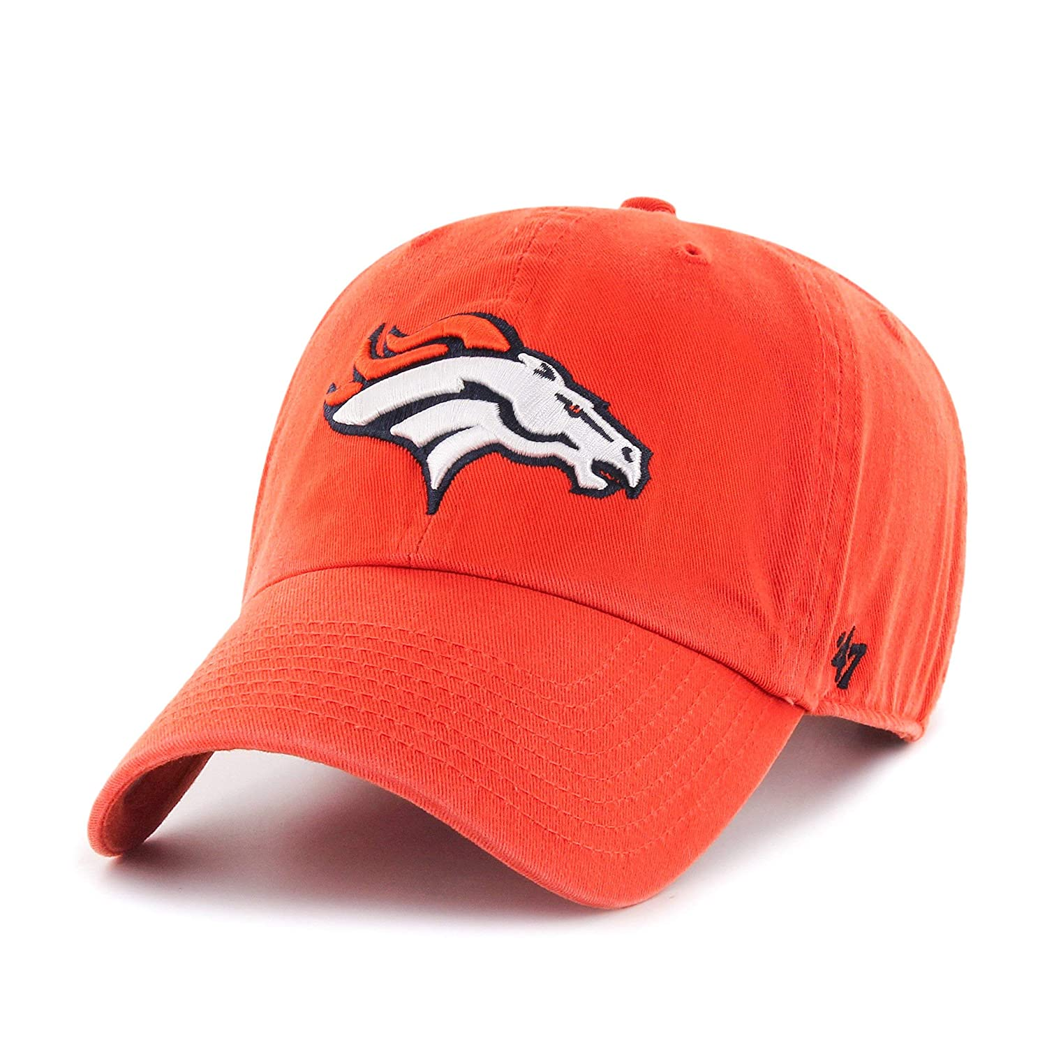 Amazon.com    47 NFL Denver Broncos Relaxed Fit Retro Embroidered Cotton  Twill Cap   Sports   Outdoors 4a444ce01