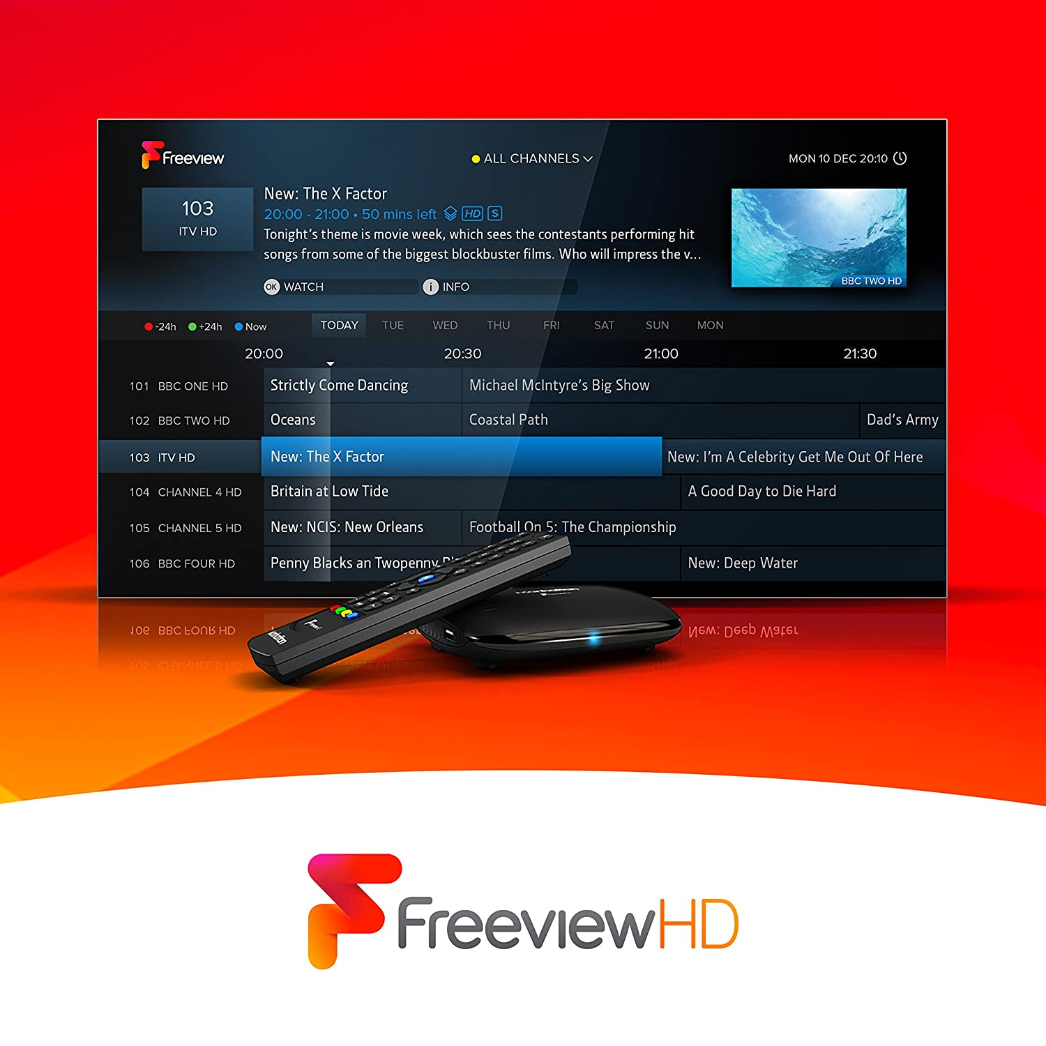 Manhattan T1 Freeview HD Box