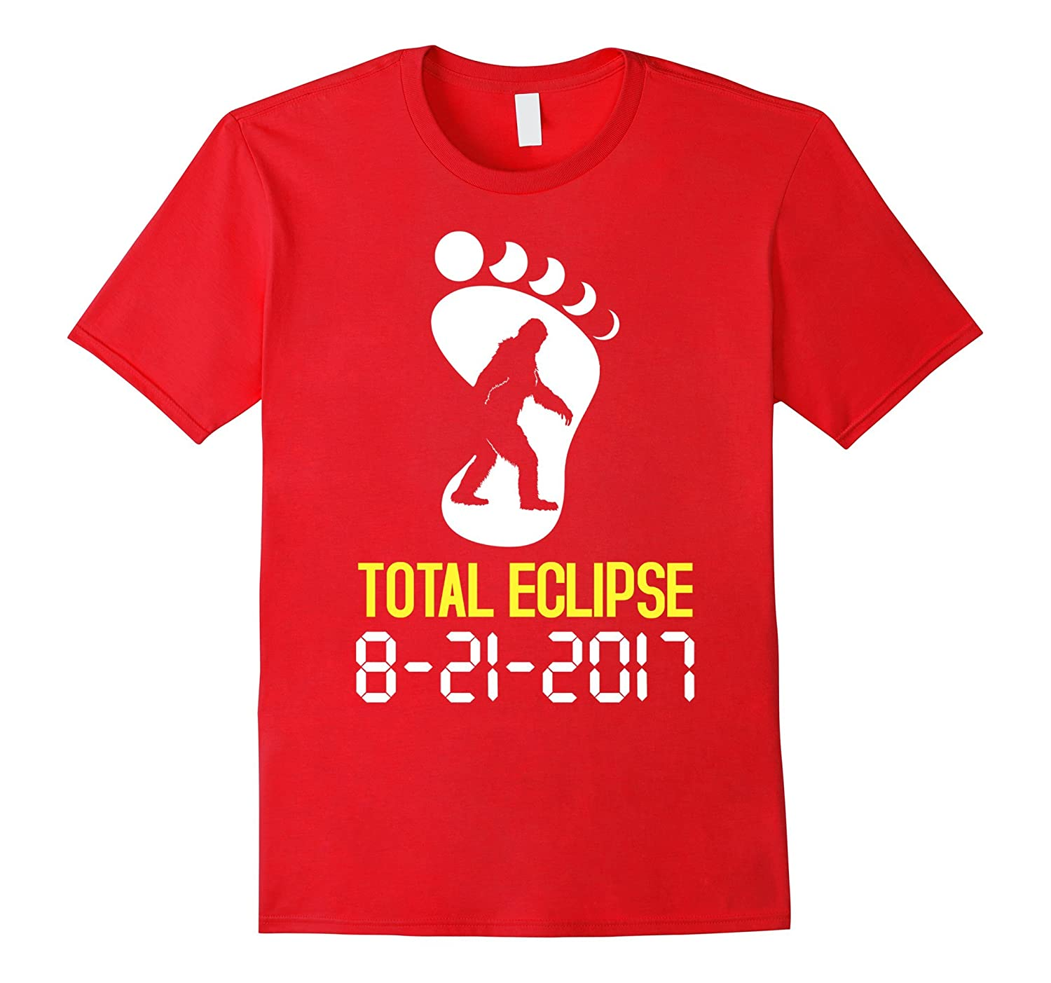 Big foot Oregon Total Eclipse 2017 Cool T-Shirt