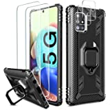 [5 items] Milomdoi 1 Case +2 pack HD Screen Protector +2 pack Camera Lens Protector for Samsung Galaxy A71 5G, [Not fit Veriz