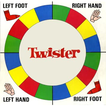 photo relating to Twister Spinner Printable named Twister Spinner
