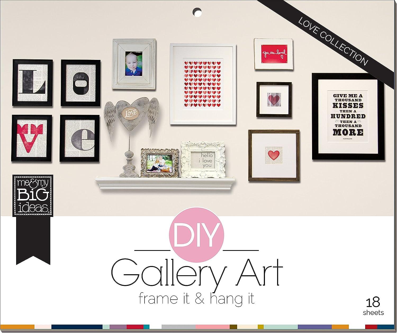 amazon com me u0026 my big ideas diy gallery art love
