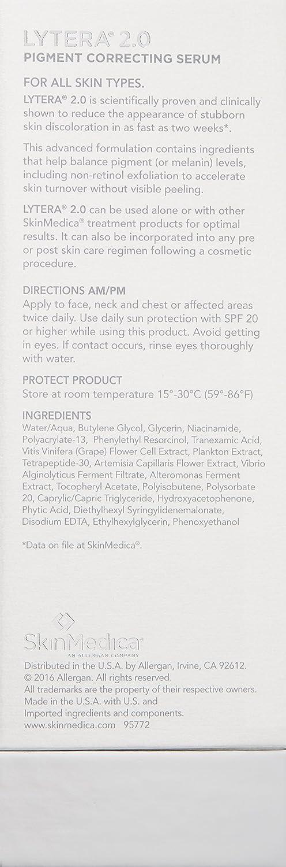 Amazon Skinmedica Lytera 20 Pigment Correcting Serum 2 Oz