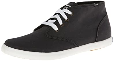 Keds Men's Champion Chukka Lace-Up Sneaker, Black, ...